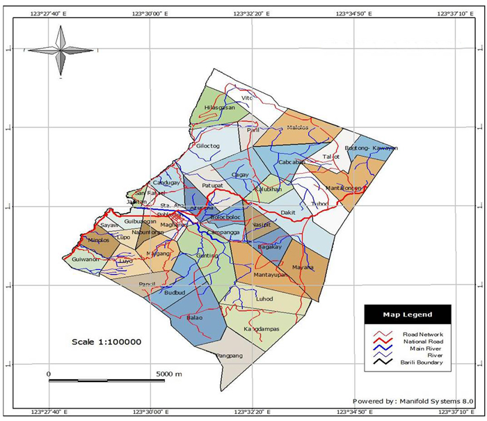 Barili Map